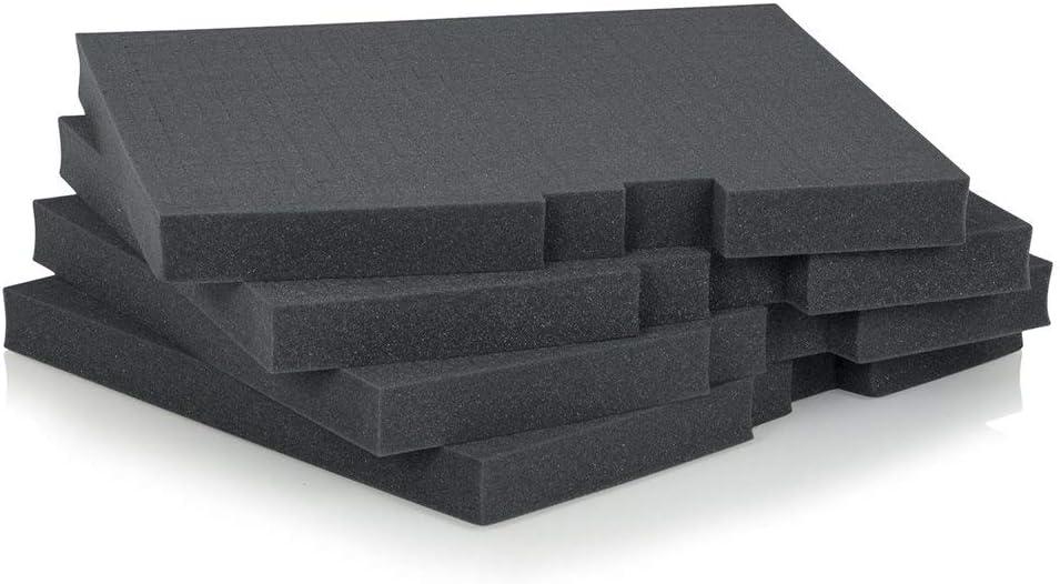 Gator Rackworks Replacement Layered Diced Foam for Rack Mount Drawer; 4U Insert GRW-DRWFOAM-4