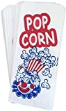 white and blue popcorn bags - Paper Popcorn Bags - Red Blue White - 100 Pack