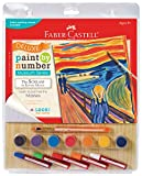 Faber Castell Young Artists Deluxe Paint By Number Mixed Media Kit - Munch: The Scream