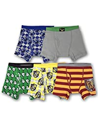 5007a6f45183 Boys' 5-Pack Harry Potter Boxer Brief Underwear