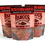 Famous British Columbia Salmon Rub - Pack of 3
