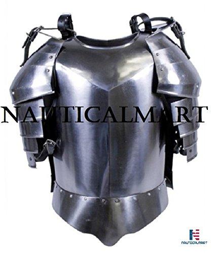 Medieval Armor Shoulder Breastplate,HA-2- Warrior Knight Armor By Nauticalmart by NAUTICALMART