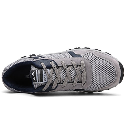 Shoes Outdoor Water Hiking Jeater Women's Mesh Men's Breathable Grey77 Shoe 8xIqv