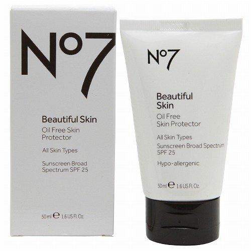 CARGADORES NO7 piel hermosa Oil Free piel Protector 1.6 fl oz (50 ml)