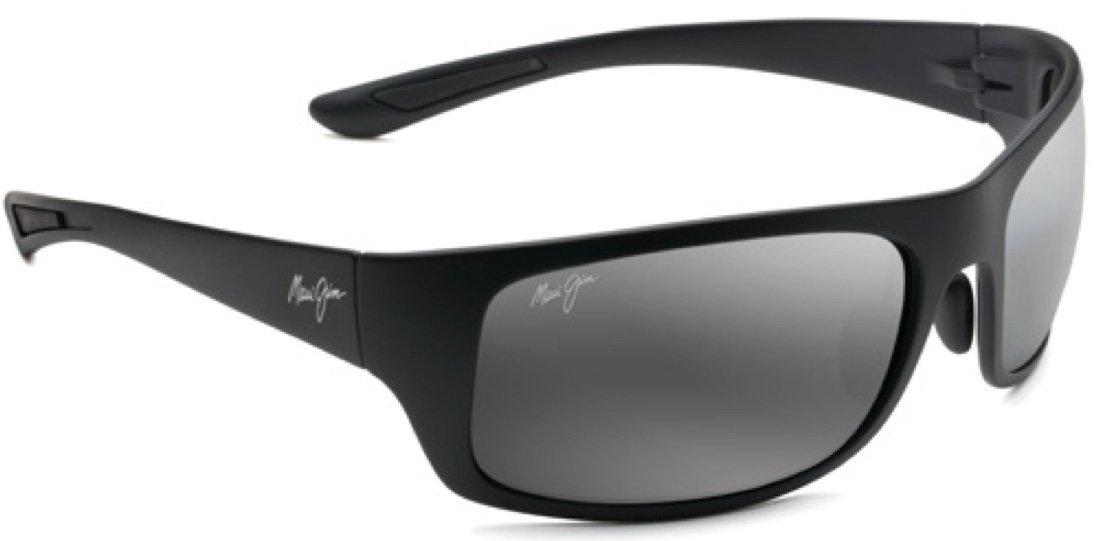 Maui Jim Unisex Big Wave Matte Black/Neutral Grey One Size