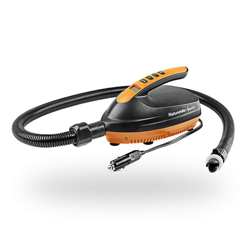 Umiwe 16PSI 電動 SUP エアポンプ 12V 車載 急速膨張 デジタルエアインフレーター エアマットレス ラフト ベッド ボート プール おもちゃ B07QS6LTQ7
