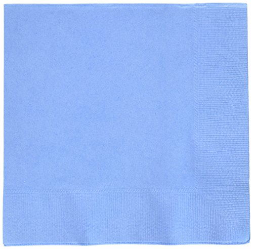 Disposble Party 2-Ply Luncheon Napkins Tableware, Pastel Blue, Paper , 7