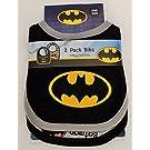 Batman 2-Pack Bibs