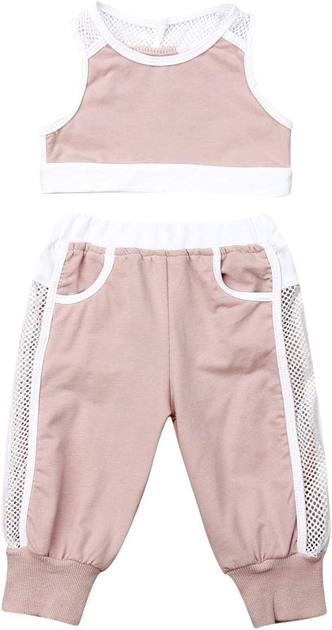 jsadfojas - Camiseta de Malla sin Mangas para niñas y bebés + ...