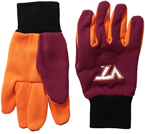(Virginia Tech 2015 Utility Glove - Colored Palm)