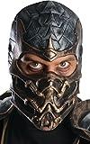 Mortal Kombat Deluxe Overhead Scorpion Mask, Brown, One Size