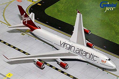 Gemini200 Virgin Atlantic B747-400 'Ruby Tuesday' Airplane Model