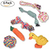 Dog Rope Toys [6 Pack] Oziral Puppy Braided - Best Reviews Guide