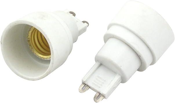 4pcs G9 Male to E27 Female Socket Base LED Halogen CFL Light Bulb Lamp Adapter