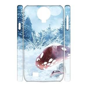 SamSung Galaxy S4 I9500 White world 3D Art Print Design Phone Back Case DIY Hard Shell Protection TY066185