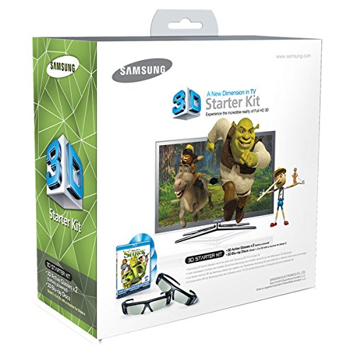 Samsung SSG-P2100S/ZA Shrek 3D Starter Kit  - White (Compatible with 2010 3D TVs)