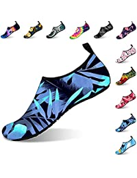 ORNICE Womens and Mens Water Shoes Barefoot Quick-Dry Aqua Socks Barefoot for Outdoor Beach Swim Sports Yoga