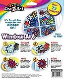 Window Art Decorative Design DIY Kit by Cra-Z-Art