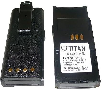 Battery Eliminator for MOTOROLA HNN9049A HNN9050A HNN9051A Radius P1225 LS Radio