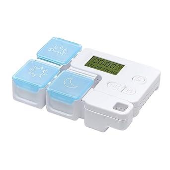 HEALLILY 3 Compartimentos Caja de Pastillas Caja de Medicina ...