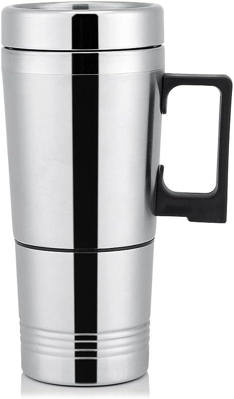 Termo Taza Electrico Calentador para Coche,Termo de café para ...