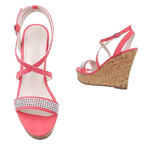 Pink Donna con Design Scarpe Ital plateau n8wTfx