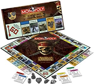 Usaopoly Pirates Of The Caribbean Trilogy Edition Monopoly