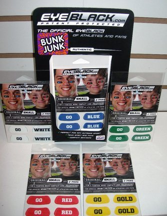 Bunk Junk Color War Eye Black - Gold
