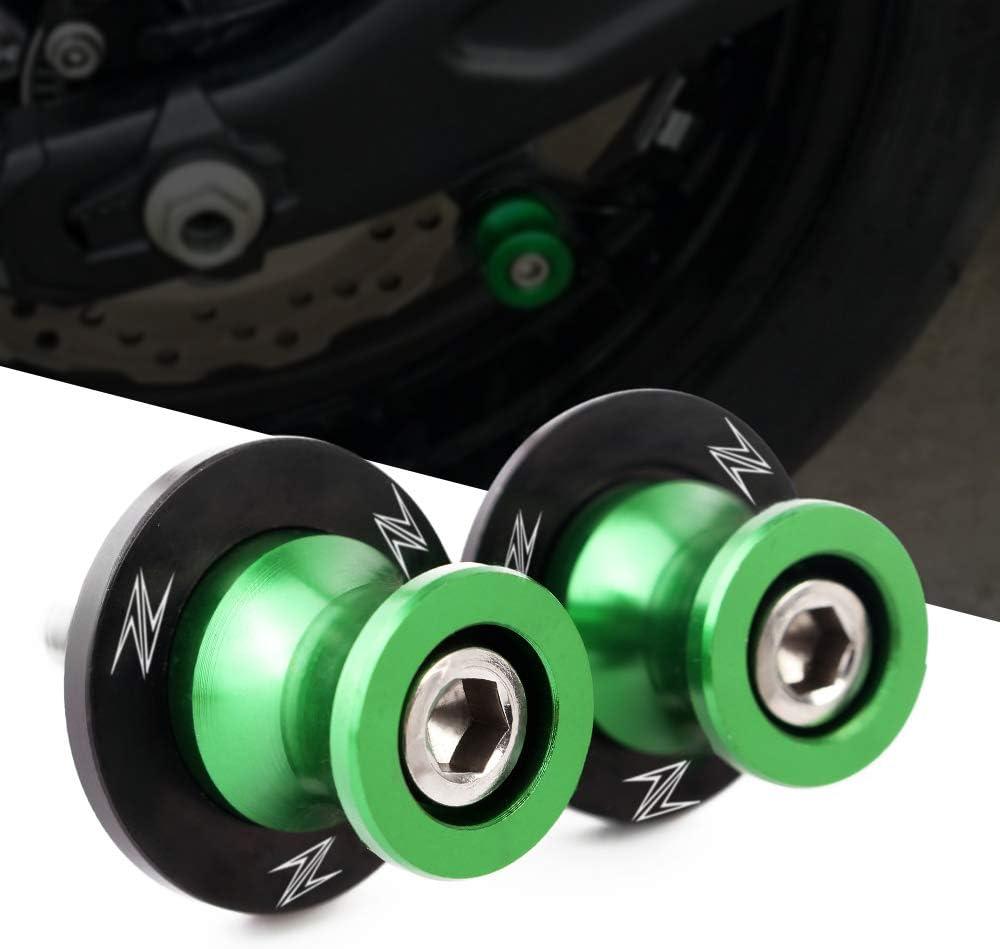M8 Coppia di Nottolini Alza Moto Supporti per Forcellone Posteriore Delle Moto Per Kawasaki Z400 Z650 Z800 Z900 Z1000 Ninja 650 ZX6R ZX10R