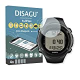 4 x Disagu FullFlex Screen Protector for Suunto D4i Novo foil (Screen Protector fits accurately on Any Curved Display)