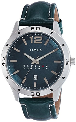 Timex Analog Blue Dial Men's Watch – TW000U931