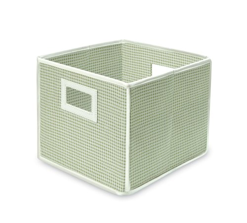 (Badger Basket Folding Basket and Storage Cube, Sage)