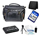 Camera Case Accessories Starter Kit for Sony Handycam HDR-TD20 HDR-TD30 HDR-CX560V DCR-SX45 DCR-SX85 HDR-CX130 HDR-CX210 HDR-CX220 HDR-PJ230 HDR-CX230 HDR-CX240 HDR-PJ275 HDR-CX290 HDR-CX330 HDR-PJ340 HDR-PJ380 HDR-PJ430 HDR-PJ540 HDR-CX580 HDR-PJ650 HDR-