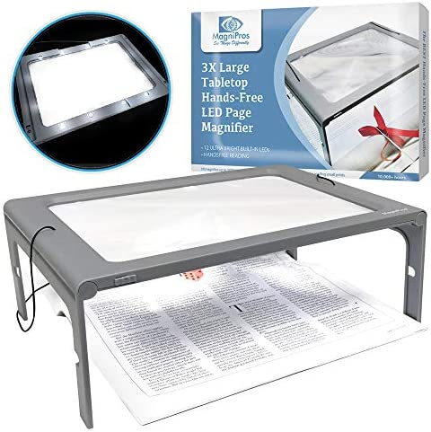 Magnifier Provide Viewing Foldable Flip Out