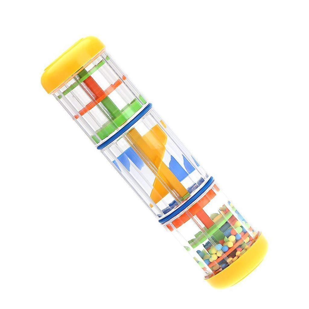 Ogquaton 8 jouet de musique dapprentissage pr/écoce b/âton de pluie Rainmaker pour Toddler Kids Games KTV Party