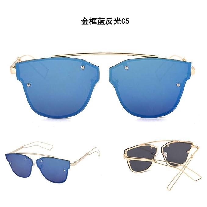 SenDi Gafas de sol - Caja grande marca de moda marea señoras ...