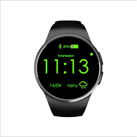 Amazon.com : KLKLTT Smart Watch Fully Rounded Android/iOS ...