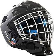 Ice Goalie Helmet V3.0 TEK Goalie Helmet W/CAGE Black
