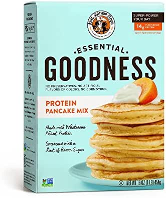 Baking Mixes: King Arthur Essential Goodness Protein Pancake Mix