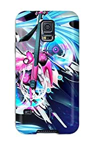 For Galaxy Case, High Quality Miku Hatsune For Galaxy S5 Cover Cases