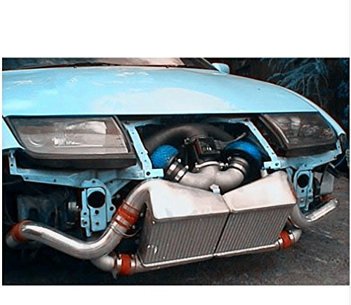 Amazon.com: GOWE Intercooler Kit for RED FOR Nissan 300ZX Twin Turbo Fairlady Z32 VG30DETT Aluminum Intercooler Kit: Automotive