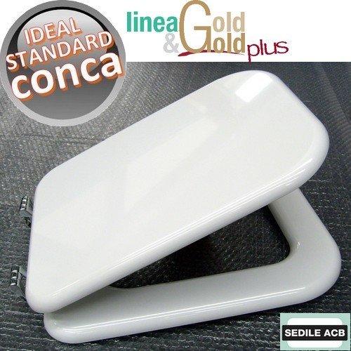 Asse Water Conca.Asse Sedile Per Wc Conca Ideal Standard Marca Acb Linea Gold