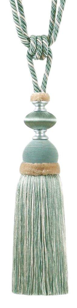 MARCOVALDO USA MTRKIMBETE1203 Kimberly Tassel Tie Back, Multicolored, Set of 6
