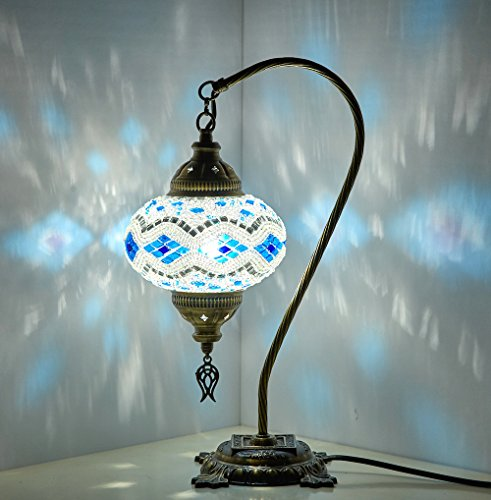 Table LampSwan neckLamp ShadeArabian Mosaic Lamps Moroccan Lantern ChandelierTurkish Light Hanging Lamp Mosaic lightingFlooring Light