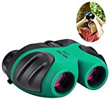 Best-Sun Gifts for 3-12 Years Old Boys, Compact 8x21 Shock Proof Binoculars for Bird Watching Kids Telescope for Teens Toys for 3-12 Years Old Boys (Green)