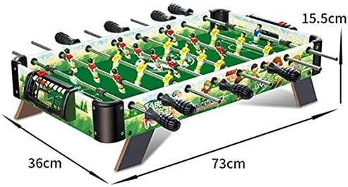 MJ-Games Futbolín de futbolín/Futbolín de Mesa, Mini Deluxe ...