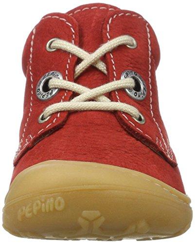 Ricosta Cory - Botas de senderismo Bebé-Niños Rojo (Rubino)