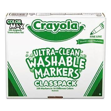 Al por mayor funda de 3 - Crayola Thin Line markers-fine línea ...