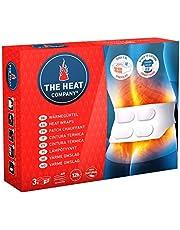 THE HEAT COMPANY Wärmegürtel - EXTRA WARM - 12 Stunden wohlige Wärme - sofort einsatzbereit - luftaktiviert - rein natürlich - für alle Größen: S-XL - 3 Stück