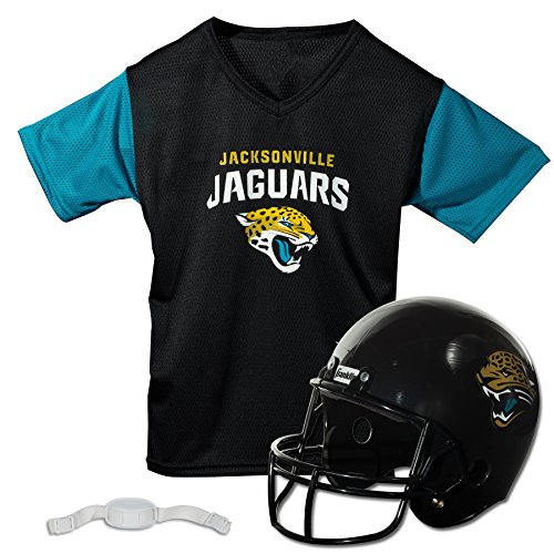 Franklin Sports NFL Jacksonville Jaguars Replica Youth Helmet and Jersey Set